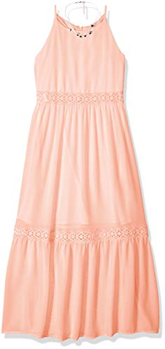 Girls Maxi - Amy Byer Girls' Big High Neck