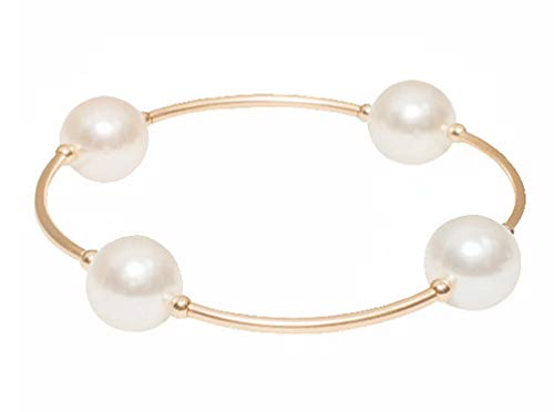 Made-As-Intended-Blessing-Bracelet-White-Swarovski-Crystal-Pearls-with-Gold-Filled-Links