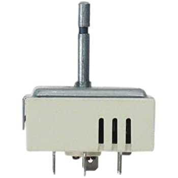 310gNvI0KNL._SL500_AC_SS350_ amazon com ge wb24t10063 range dual burner control switch for  at bayanpartner.co