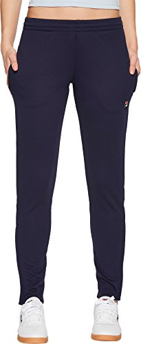 Fila Women's Lola Trackster Pants Navy Large (Pants Womens Fila)