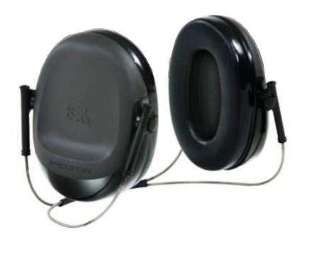 Peltor Behind The Head Welding Earmuff,NRR 17dB,Black,10/case, H505B
