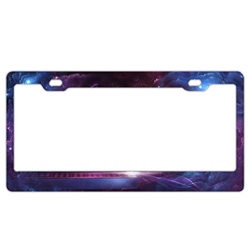 Zogpemsy Space Player Home,Bathroom and Bar Wall Decor Car Vehicle License Plate Metal Tin Sign Plaque
