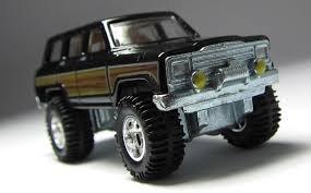 HOT WHEELS BOULEVARD 1:64 SCALE 1988 JEEP WAGONEER DIE-CAST - Jeep Wagoneer Toy