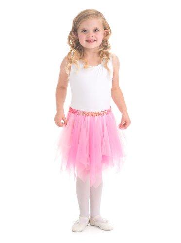 [Pink Fairy Tutu For Girls (3-8 years)] (Three Girl Group Halloween Costumes)