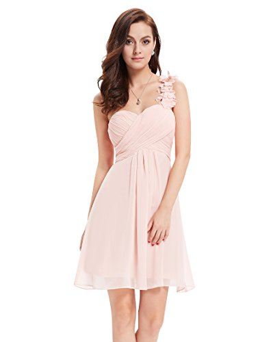 Ever Pretty Womens Empire Waist Sweetheart Neckline Party Dress 8 US Pink