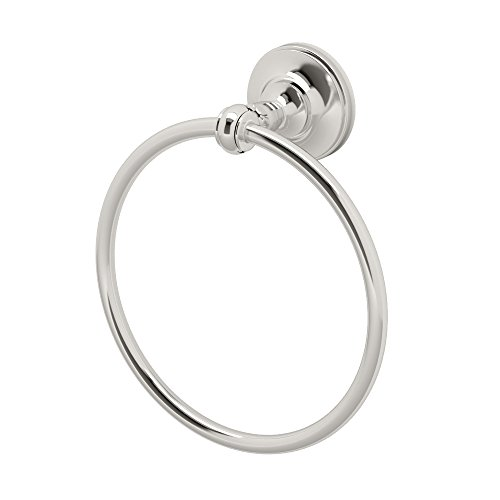 Gatco 4122 Tavern Towel Ring, Polished Nickel by Gatco