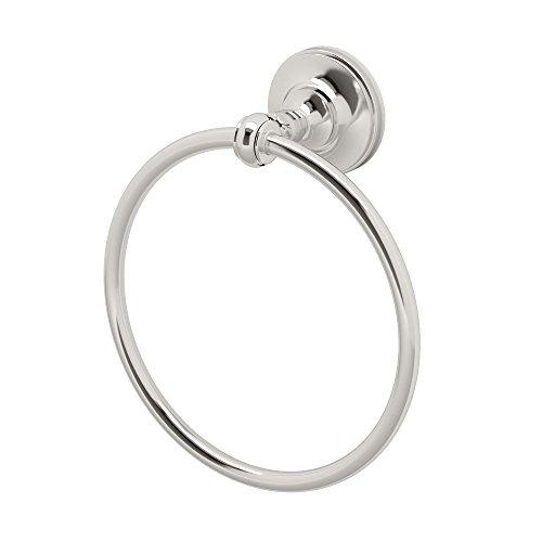 (Gatco 4122 Tavern Towel Ring, Polished Nickel)
