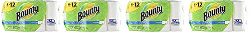 Bounty Select-A-Size Paper TBDxit Towels, White, Giant Roll, 8 Count (Pack of 4)