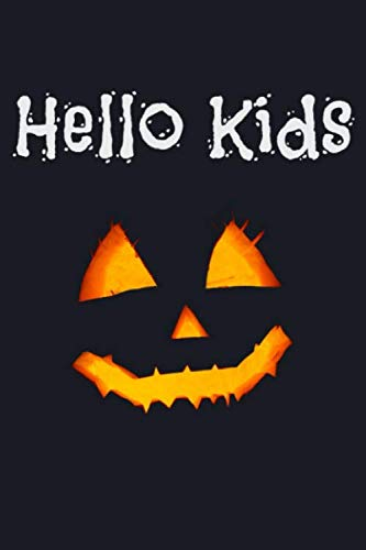 Creative Non-scary Halloween Costumes (Hello Kids: Trick or Treat Scary Halloween Lined)