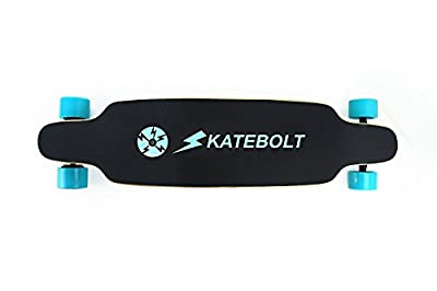 SKATEBOLT Electric Skateboard Longboard S3 Breeze,Replaceable Wheel,Max Range 13 Miles,Top Speed 19 MPH from Alouette Intelligent