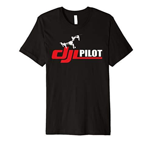 DJI DRONE QUAD COPTER PILOT T SHIRT