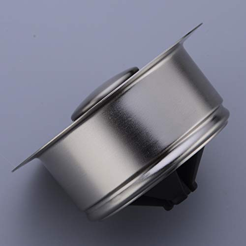 BESTILL Brass Kitchen Sink Flange Kit for 3-Bolt Mounted Garbage Disposal,Brushed Nickel by BESTILL (Image #3)