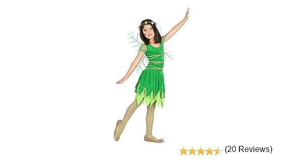 Atosa-56917 Disfraz Hada, Color Verde, 5 a 6 años (56917): Amazon ...
