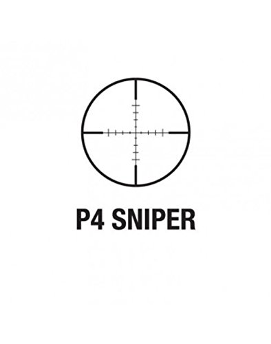 Aim Sports 3-9X40 P4 Sniper Scope with Flip-Up Lens and Rings by AIM Sports