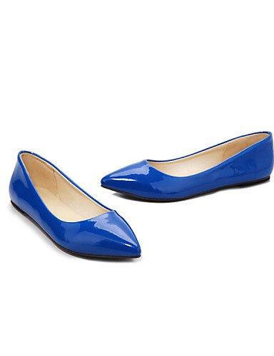 PDX zapatos de mujer de charol tal ZSBZqHn