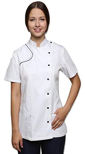 d66dda5a0f7 Mirabella Health and Beauty Clothing Women's Kittiwake Spa Therapist Tunic  Uniform Top 8 White