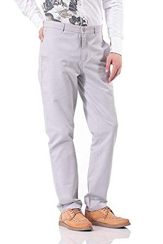Slim Saoye Sólidos De Casuales Fashion Hombres Colores Botón Pantalones Para Con Ropa Bolsillos Chinos wCfCpq4