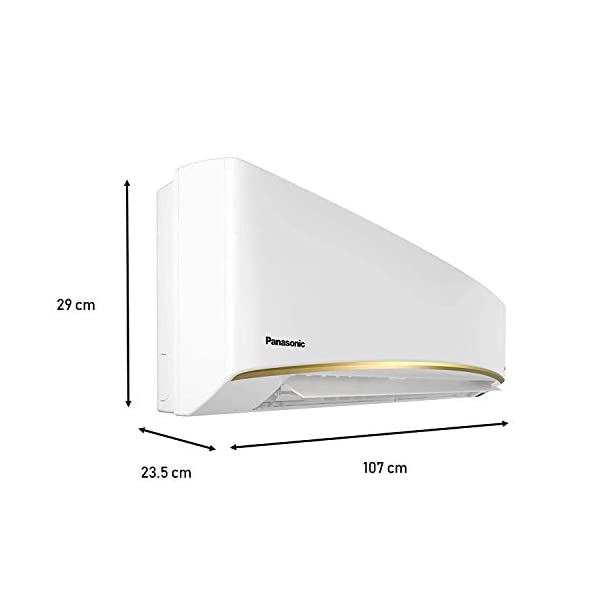 Panasonic 1.5 Tons 3 Star Split AC (Cs/Cu-Kn18wky Fs, White) 2021 August Powerful Mode to work in Extreme Condition Sheild Blue- for More Durability R 32 -ECO FRIENDLY GAS