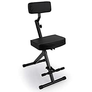 Amazon Com Portable Adjustable Musician Performer Stool