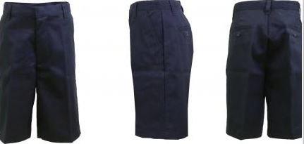 K&A Company Navy Boys Flat Front Shorts Size - Size 4 Case Pack 24