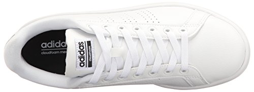 Scarpe Da Tennis Adidas Da Donna Con Vantaggio Cloudfoam Bianche / Bianche / Nere