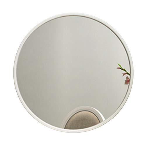 Bathroom Wall-Mounted Round Mirror-Metallic Framed Large Vanity Mirrors Shaving Mirror Magnifying Mirror Shower Make-up Mirror-Bedroom Living Room Hallway(Multiple Sizes) ()