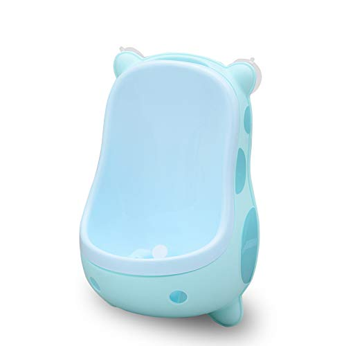 KathShop Boy Toilet Baby Potty Cute Cows Wall-Mounted Urinal Toilet Leak Proof Portable Children's Pot Training Boy Kids Child Potty WC