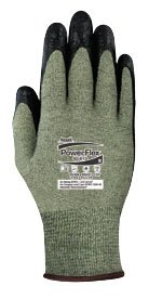 (Ansell 80-813-8 Size 8 Powerflex Special Purpose Coated Work Gloves)