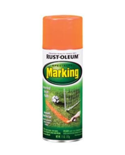 Rustoleum 1987-830 11 Oz Fluorescent Orange Marking Spray Pa