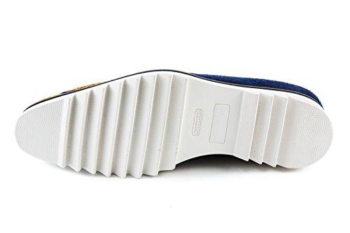 amp; Blu 762 Scarpe Stringate Blau Hamilton MH15 Melvin Uomo gd0xHqgt