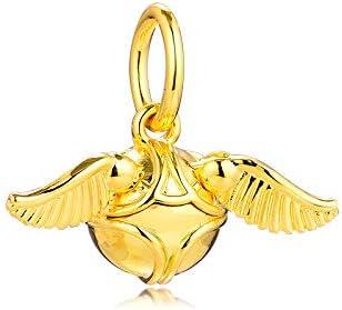 PANDOCCI 2019 Hiver Pendentif Vif d'or 925 Argent Bricolage Convient aux  Bracelets Pandora Originaux Bijoux de Mode de Charme