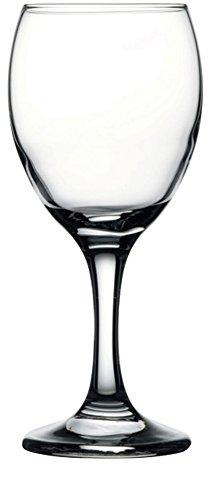 Circleware 44561 Savannah Street Wine Glasses, 11.25 oz, Clear (Kitchen Savannah)