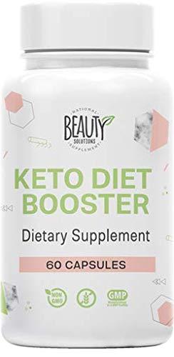 Keto Diet Booster - 60 Pills - Powerful Weight Loss Supplement - Burn Fat Fast - Natural BHB - Ketosis for Men & Women