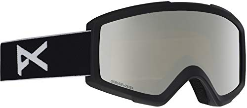 Anon Helix 2.0 Goggle w/Spare Lens Black/Sonar Silver and Amber Lens Mens