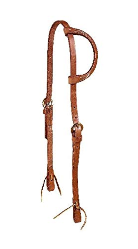 - Tory Leather Harness Leather One Ear Headstall