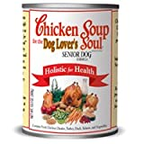 Chicken Soup for the Dog Lover's Soul Canned Food for Senior Dogs, Chicken Formula (Pack of 24, 13 Ounce Cans), My Pet Supplies