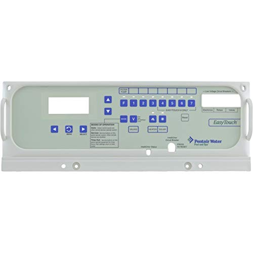 - Pentair 520656 EasyTouch Outdoor Control Panel Faceplate