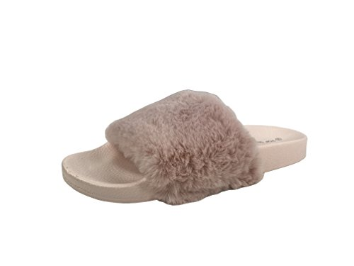 Flat Women's Slip Collection Comfort Slides On Wells Blush Sandal Soft Willow F0UCCqw