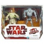 Star Wars 2010 Exclusive Geonosis Arena Showdown Action Figure 2Pack ObiWan K...