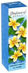 Perfumes Hawaii Cologne Bottle Plumeria