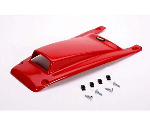 MAIER SCOOPED RACING HOOD RED HONDA TRX-250R 86-89 - Maier Scooped Hood