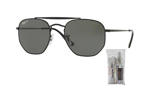 green Sunglasses The Polarized ban Black Rb3648 Marshal Ray z6qPn
