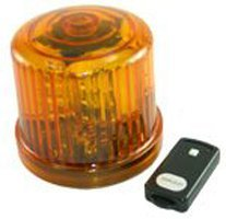 (Fortune Products PL-300AJ-RC 4.75 in. Rotating LED Beacon, Battery Operated-Jack -)
