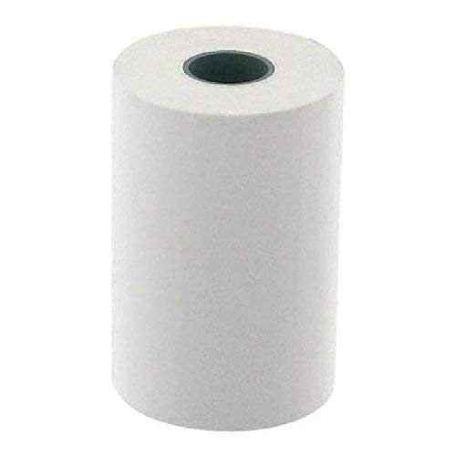 57 x 40 x 12m Univers Graphique Pack of 50 Standard Thermal Paper Credit Card Rolls TPE