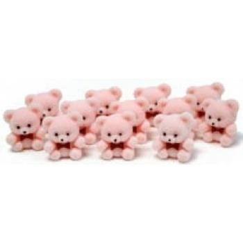 1-miniature-flocked-pink-baby-teddy-bears-pkg-of-24