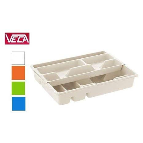 Blim doble bandeja de cajón para cubiertos, Multicolor, 40 x 43 x 7 cm: Amazon.es: Hogar