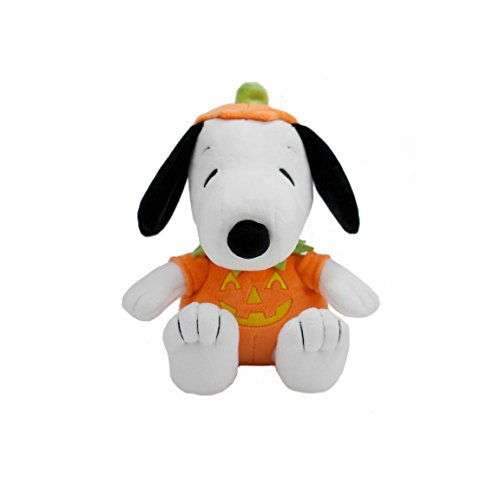 Hallmark Plush Snoopy in Pumpkin Halloween Costume