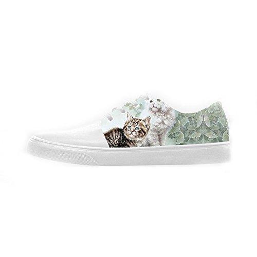 Naranja 100% Original Custom Gatti di pittura Womens Canvas shoes Le scarpe le scarpe le scarpe. Venta De Descuento Comprar Increíble Precio Barato trM8uKX5U