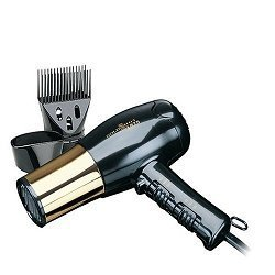 Gold N Hot 1875 Watt Full Size Euro Dryer with Concentrator # Gh8135 (Black And Gold Hair Dryer compare prices)