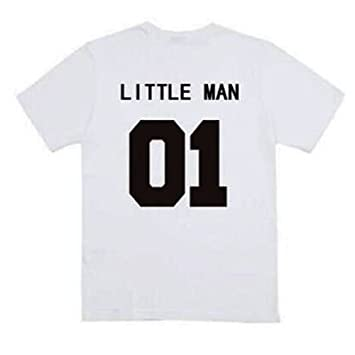 Zooarts Big/Little Man 01 Dad Boy Carta Camiseta Ropa Romper Kid ...